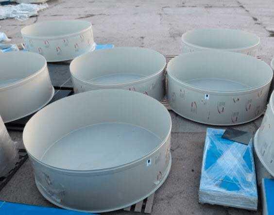 Изготовление бассейнов и купелей из полипропилена