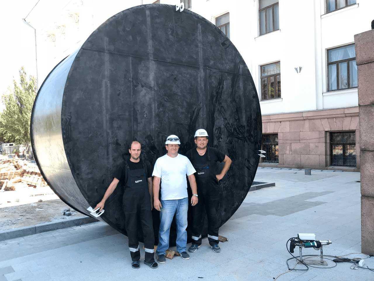 Производство резервуаров из пластика
