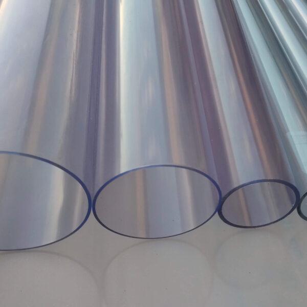 Труба ПВХ прозрачная PVC-GLAS D160мм. PN4-7