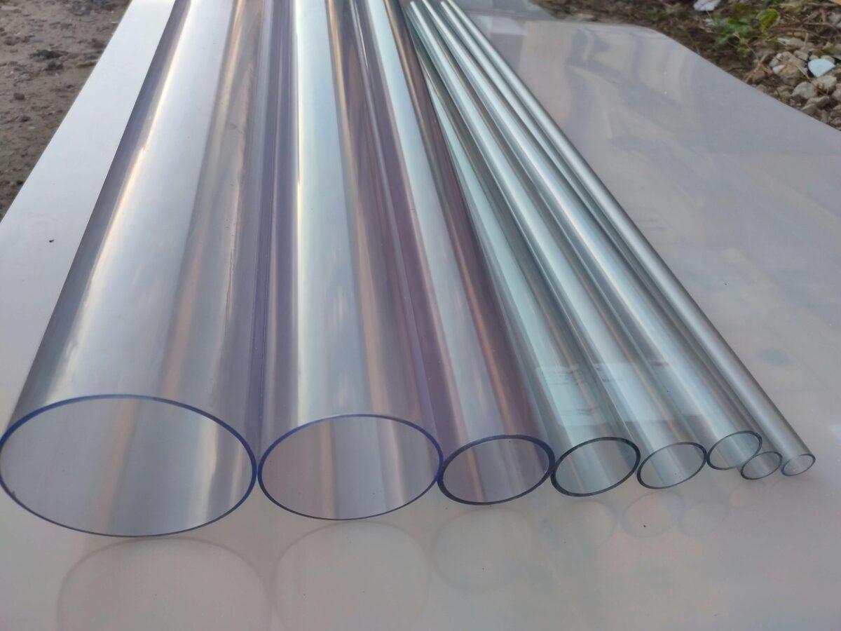 Труба ПВХ прозрачная PVC-GLAS D32 мм. PN12-16