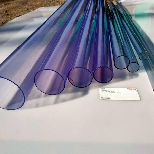 Труба ПВХ прозрачная PVC-GLAS D63мм. PN10-16