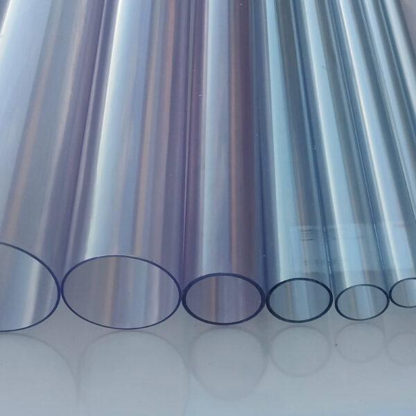 Труба ПВХ прозрачная PVC-GLAS D90мм PN4-10