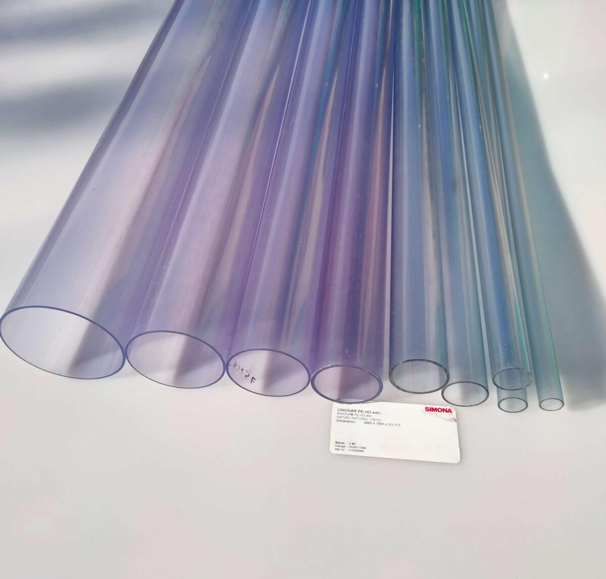 Труба ПВХ прозрачная PVC-GLAS D20 мм. PN16