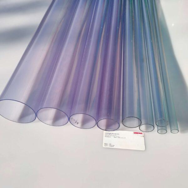 Труба ПВХ прозрачная PVC-GLAS D75мм PN4-10