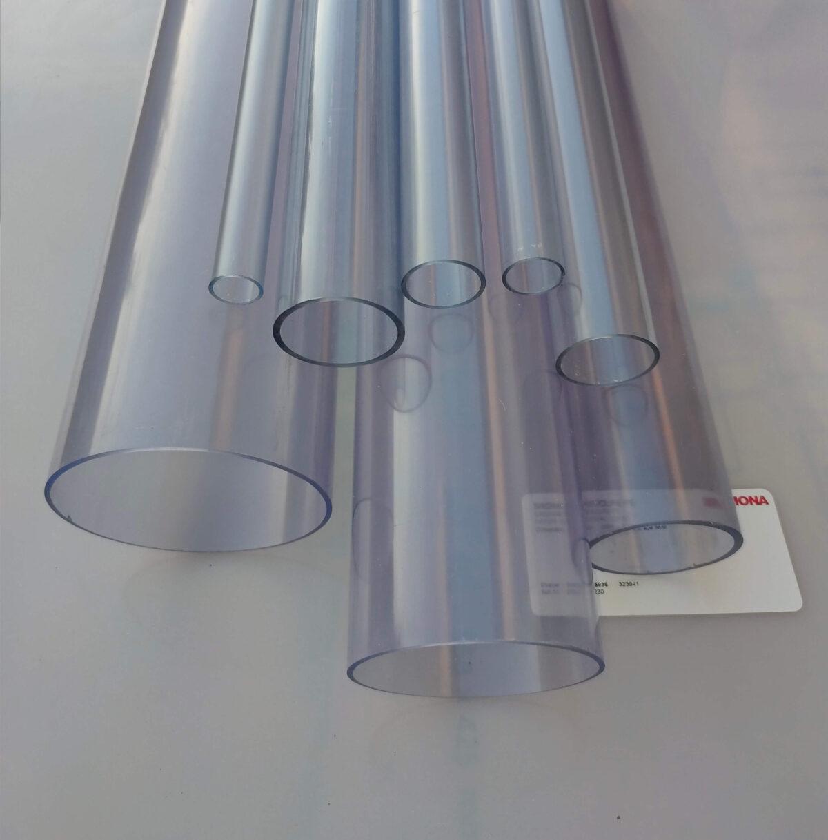 Труба ПВХ прозрачная PVC-GLAS D140мм. PN4