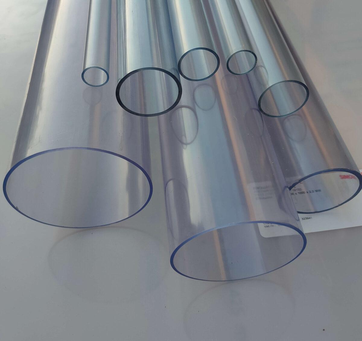 Труба ПВХ прозрачная PVC-GLAS D125мм. PN4