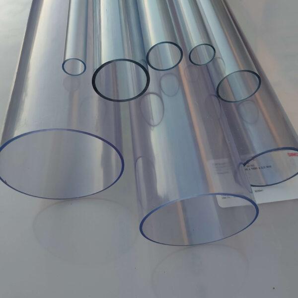 Труба ПВХ прозрачная PVC-GLAS D25 мм. PN12,5-16
