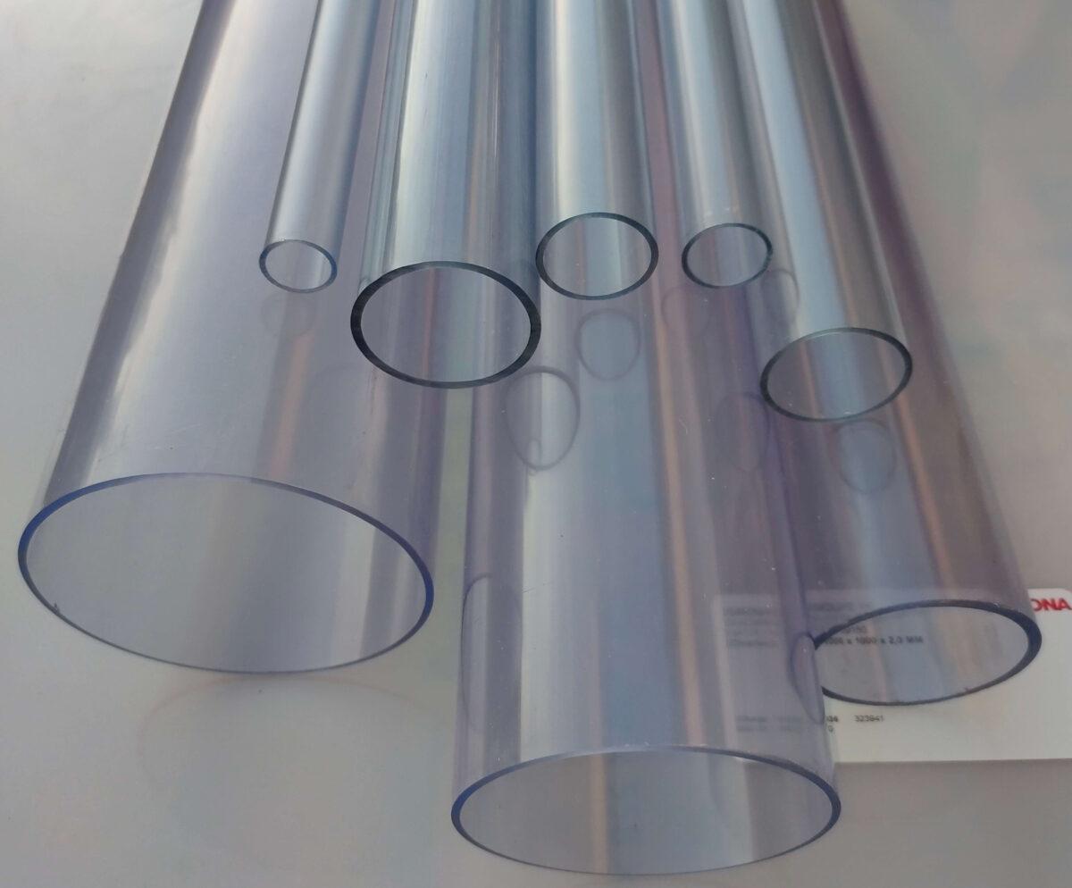Труба ПВХ прозрачная PVC-GLAS D110мм. PN4-12,5